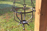 Scrolled Iron Hanging Plant Holder