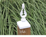 Decorative Acorn Top Post Cap for 4x4 wood/composite Post