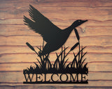 Personalized Duck Sign, Welcome Sign, Duck Commander