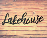 Lake House personalized Home Decor