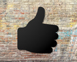 Thumbs up wall sign