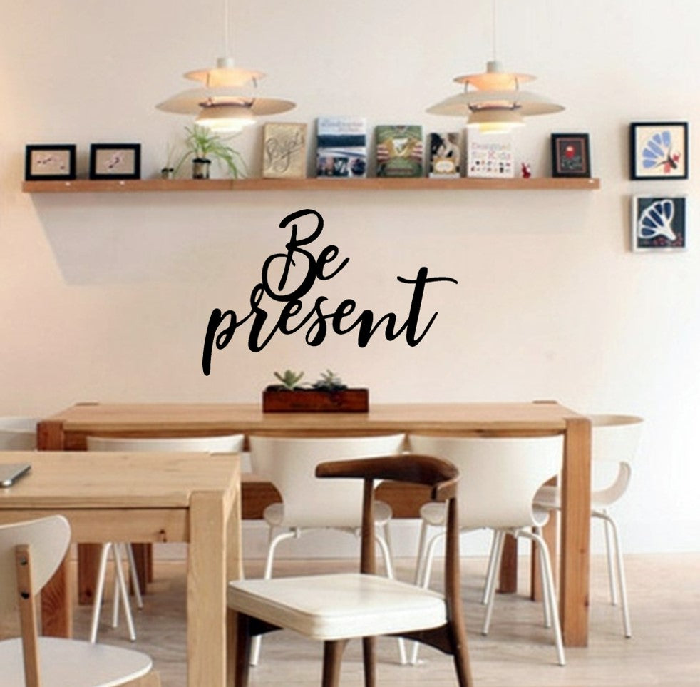 "Metal ""be present"" sign"