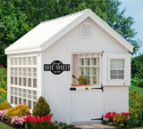 She Shed Garden shed sign