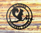 Squirrel Custom Sign