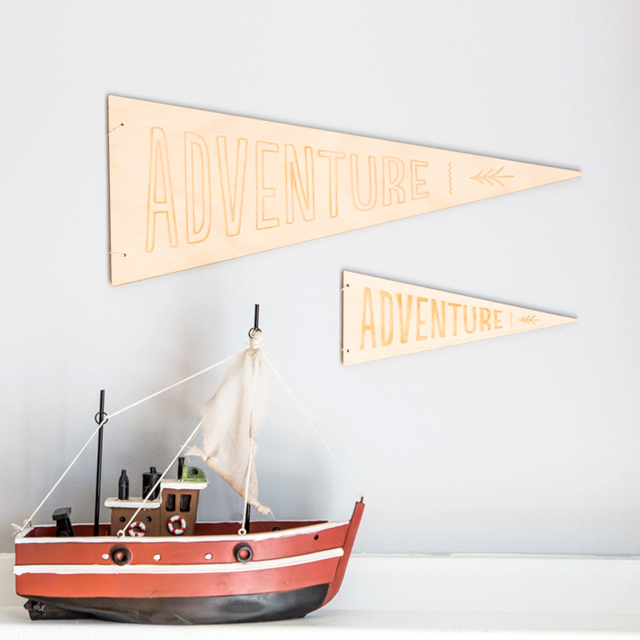 Adventure Hanging Flag