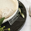 Clear Place Settings - Set of x5
