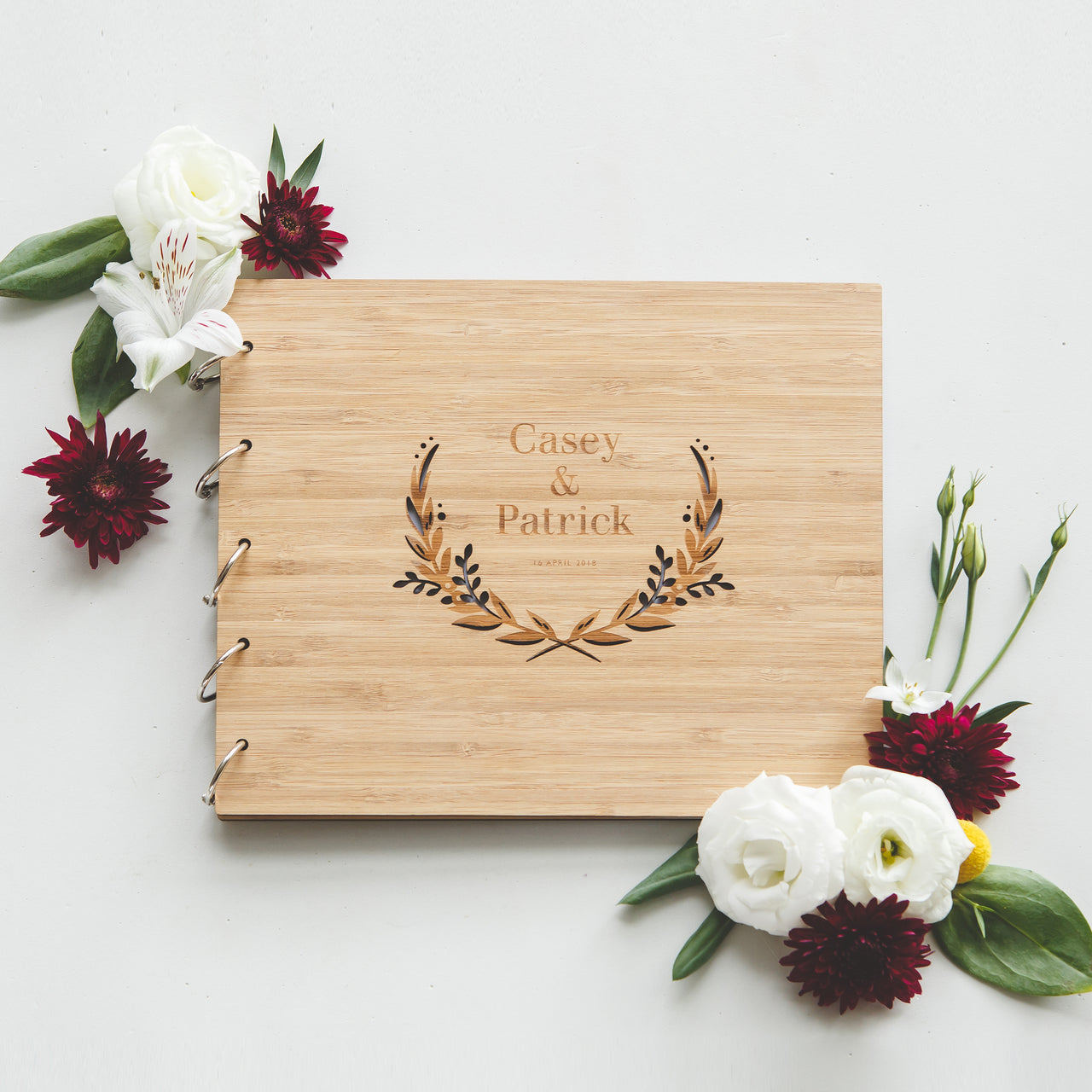 Floral Wedding Guestbook