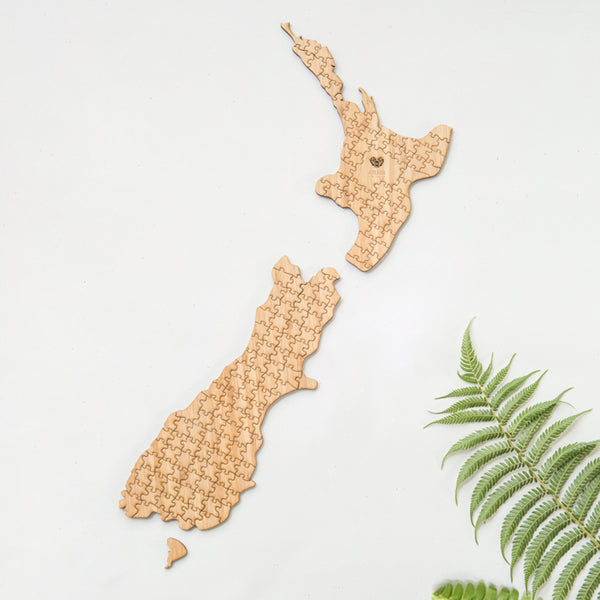New Zealand Map Puzzle