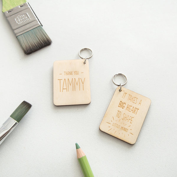 Teacher Keyring
