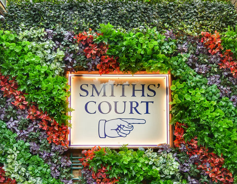 Smith's Courtyard, Smith's Court , Soho, a great courtard full of independent retailers in one fabulous location.