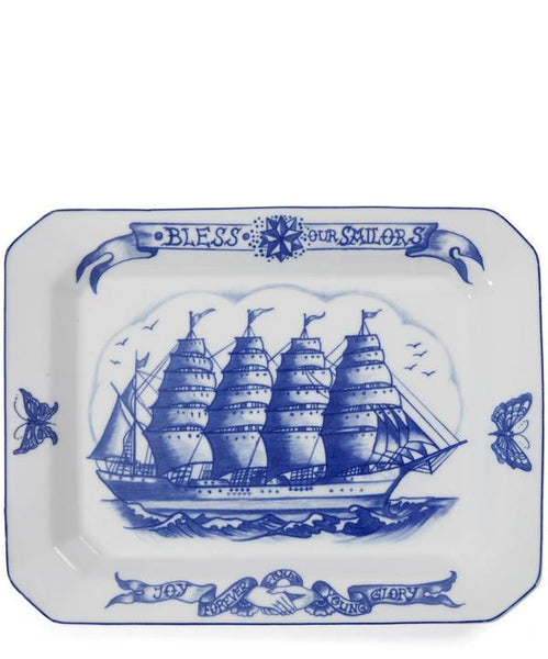 MUTTI - BLESS OUR SAILORS PLATTER