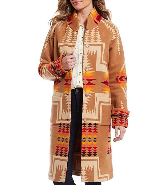 Pendleton sold out womens 1930s archive jacket, woolen mills. heritage brand. Made in USA.