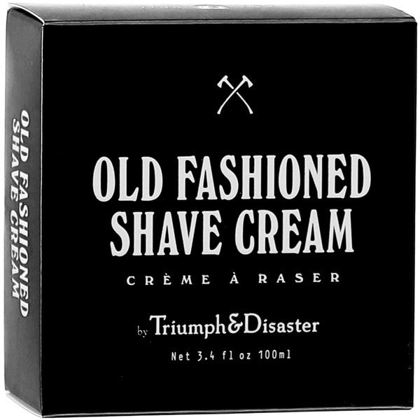 OLD FASHIONED SHAVE CREAM, skincare, Triumph and Disaster, Mr Mullan's General Store, 100ml, 100ml, [option2], [option3]. We recommend using the default value. Default value is: OLD FASHIONED SHAVE CREAM - Mr Mullan's General Store