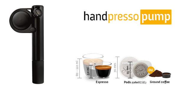HANDPRESSO PUMP (TWO COLOURS AVAILABLE)