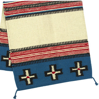 HEAVY SADDLE BACK RUG - CROSS DESIGN (32X64)