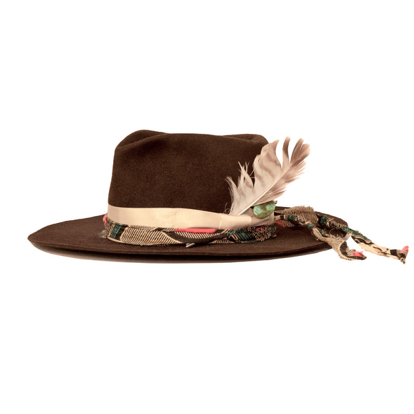 custom made hat by wild and waite