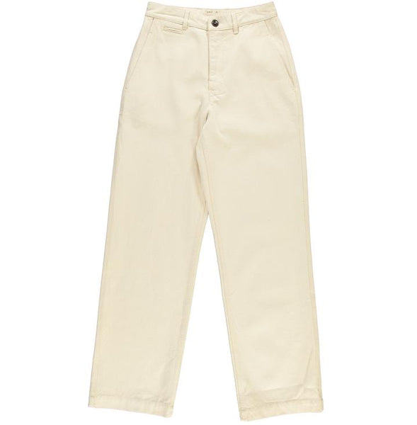RENU CHINO BULL DENIM PANTS, women's trousers, Eat Dust, Mr Mullan's General Store, XS, XS, [option2], [option3]. We recommend using the default value. Default value is: RENU CHINO BULL DENIM PANTS - Mr Mullan's General Store