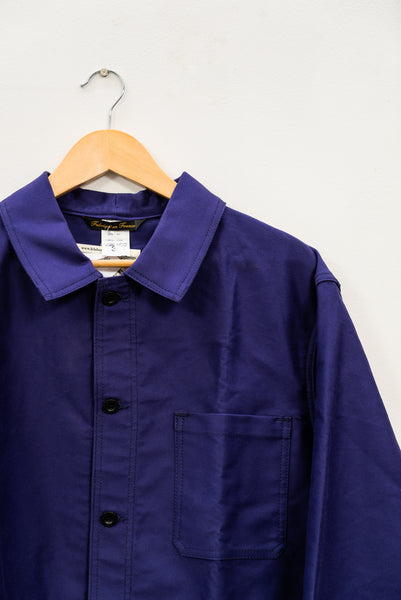 FRENCH WORKWEAR JACKET - MOLESKIN (3 colours available), jacket, Le Laboureur, Mr Mullan's General Store, [variant_title], [option1], [option2], [option3]. We recommend using the default value. Default value is: FRENCH WORKWEAR JACKET - MOLESKIN (3 colours available) - Mr Mullan's General Store
