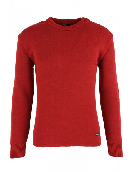 ARMOR LUX  - FOUESNANT SAILOR SWEATER, clothing, armor lux, Mr Mullan's General Store, Small / Red, Small, Red, [option3]. We recommend using the default value. Default value is: ARMOR LUX  - FOUESNANT SAILOR SWEATER - Mr Mullan's General Store