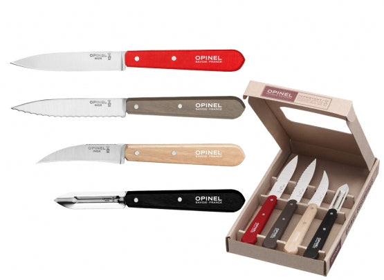 4PC OPINEL KITCHEN KNIVE SET
