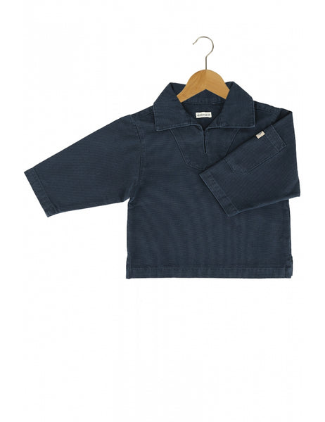 KIDS SMOCK - 2 COLOURS AVAILABLE, clothing, Armor lux, Mr Mullan's General Store, 2 years / Navy, 2 years, Navy, [option3]. We recommend using the default value. Default value is: KIDS SMOCK - 2 COLOURS AVAILABLE - Mr Mullan's General Store