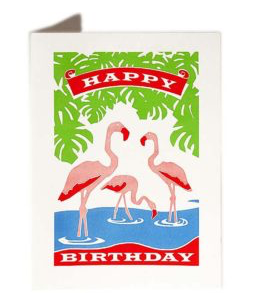 GREETING CARDS - VARIOUS DESIGNS, cards, The Archivist, Mr Mullan's General Store, Flamingo, Flamingo, [option2], [option3]. We recommend using the default value. Default value is: GREETING CARDS - VARIOUS DESIGNS - Mr Mullan's General Store