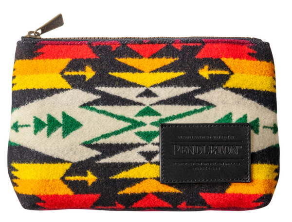 WOOL ZIP POUCH (three designs available), [product_type], Pendleton, Mr Mullan's General Store, Tuscon Black, Tuscon Black, [option2], [option3]. We recommend using the default value. Default value is: WOOL ZIP POUCH (three designs available) - Mr Mullan's General Store