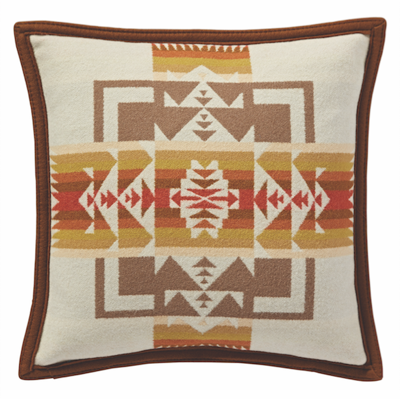 CHIEF JOSEPH DUCK/ FILL PILLOW 16x16 (4 designs available), pillow, Pendleton, Mr Mullan's General Store, Cream, Cream, [option2], [option3]. We recommend using the default value. Default value is: CHIEF JOSEPH DUCK/ FILL PILLOW 16x16 (4 designs available) - Mr Mullan's General Store