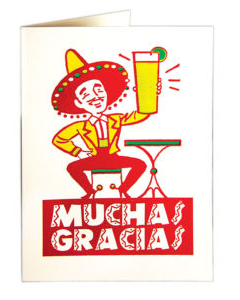 GREETING CARDS - VARIOUS DESIGNS, cards, The Archivist, Mr Mullan's General Store, Muchas Gracias, Muchas Gracias, [option2], [option3]. We recommend using the default value. Default value is: GREETING CARDS - VARIOUS DESIGNS - Mr Mullan's General Store