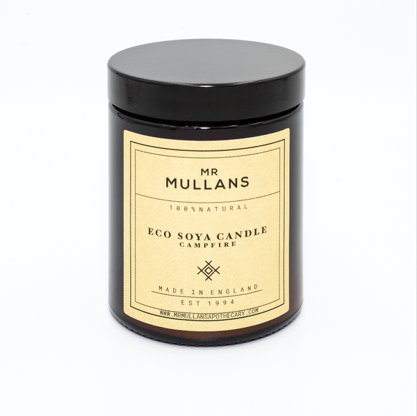 MR MULLAN'S SCENTED CANDLES (four scents available) 200g, candle, Mr Mullan's Apothecary, Mr Mullan's General Store, Campfire, Campfire, [option2], [option3]. We recommend using the default value. Default value is: MR MULLAN'S SCENTED CANDLES (four scents available) 200g - Mr Mullan's General Store