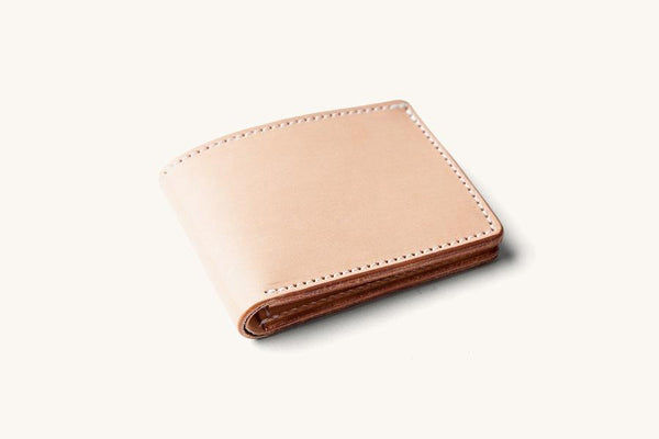 UTILITY BIFOLD WALLET, wallet, Tanner Goods, Mr Mullan's General Store, Natural, Natural, [option2], [option3]. We recommend using the default value. Default value is: UTILITY BIFOLD WALLET - Mr Mullan's General Store
