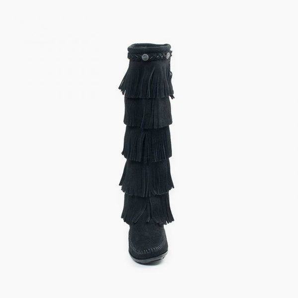 LONG FRINGE BOOT - 2 colours available