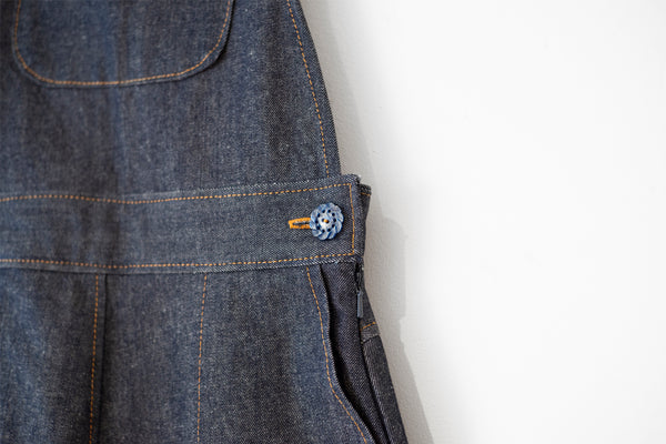 JAPANESE DENIM DUNGAREE