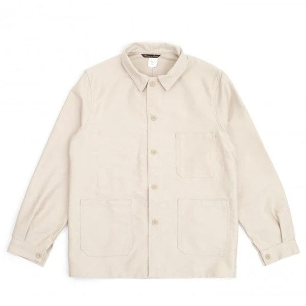 FRENCH WORKWEAR JACKET - COTTON ECRU