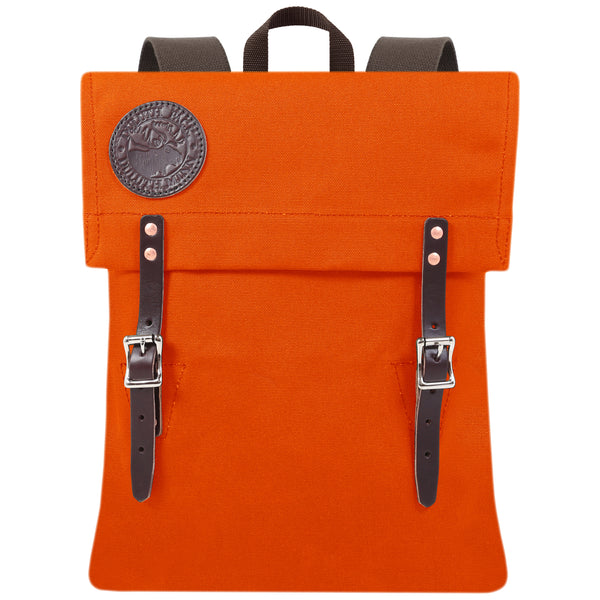 SCOUT PACK (three colours available), bag, Duluth Pack, Mr Mullan's General Store, Hunting Orange, Hunting Orange, [option2], [option3]. We recommend using the default value. Default value is: SCOUT PACK (three colours available) - Mr Mullan's General Store
