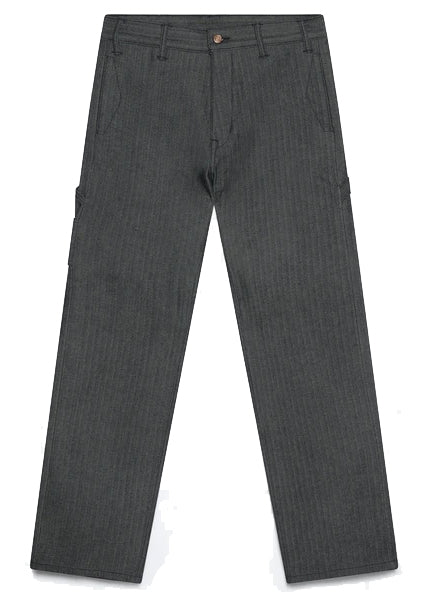 HERRINGBONE DENIM  CARPENTER PANT