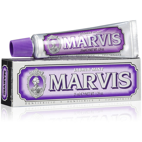 MARVIS MINI'S 25ml, toothpaste, Marvis, Mr Mullan's General Store, Jasmine, Jasmine, [option2], [option3]. We recommend using the default value. Default value is: MARVIS MINI'S 25ml - Mr Mullan's General Store