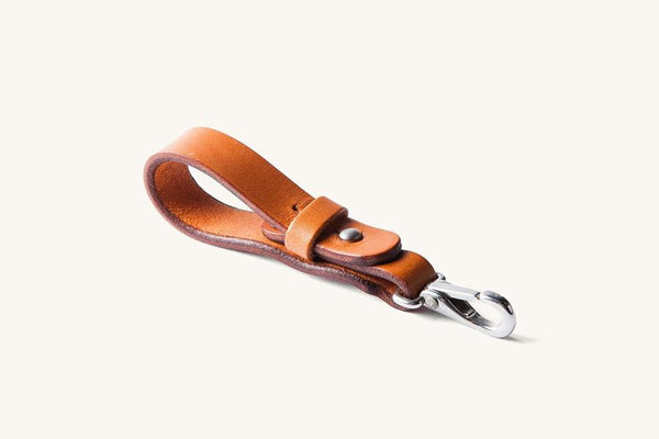 KEY LANYARD - TWO COLOURS AVAILABLE, lanyard, Tanner Goods, Mr Mullan's General Store, Saddle Tan, Saddle Tan, [option2], [option3]. We recommend using the default value. Default value is: KEY LANYARD - TWO COLOURS AVAILABLE - Mr Mullan's General Store