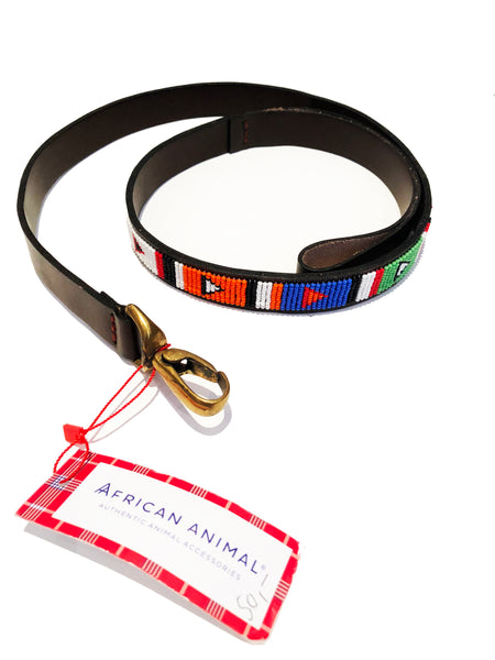 AFRICAN ANIMAL DOG LEAD