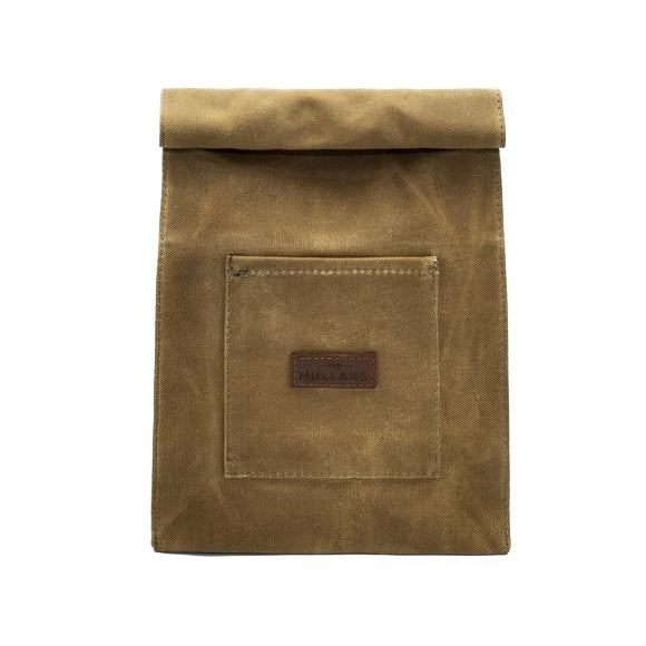 MR MULLAN'S LEATHER & CANVAS WASHBAG