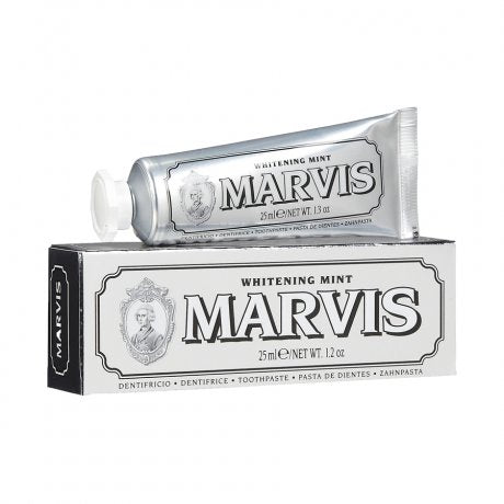 MARVIS MINI'S 25ml, toothpaste, Marvis, Mr Mullan's General Store, Whitening Mint, Whitening Mint, [option2], [option3]. We recommend using the default value. Default value is: MARVIS MINI'S 25ml - Mr Mullan's General Store