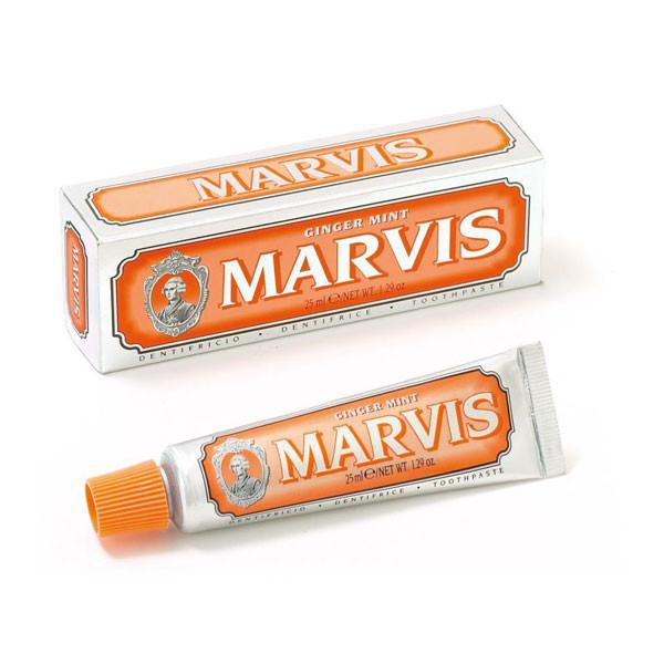 MARVIS MINI'S 25ml, toothpaste, Marvis, Mr Mullan's General Store, Ginger, Ginger, [option2], [option3]. We recommend using the default value. Default value is: MARVIS MINI'S 25ml - Mr Mullan's General Store