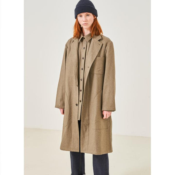 MECHANIC COAT, womens jacket, Eat Dust, Mr Mullan's General Store, XS, XS, [option2], [option3]. We recommend using the default value. Default value is: MECHANIC COAT - Mr Mullan's General Store