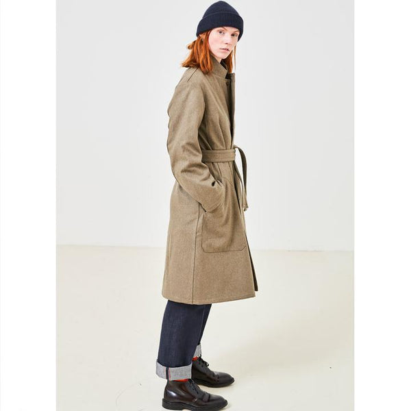 MECHANIC COAT, womens jacket, Eat Dust, Mr Mullan's General Store, SM, SM, [option2], [option3]. We recommend using the default value. Default value is: MECHANIC COAT - Mr Mullan's General Store