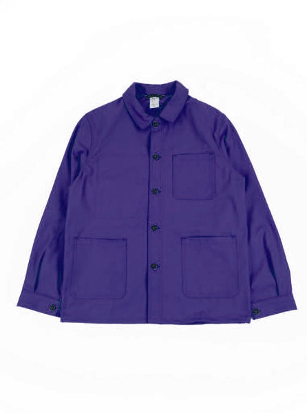 FRENCH WORKWEAR JACKET - MOLESKIN