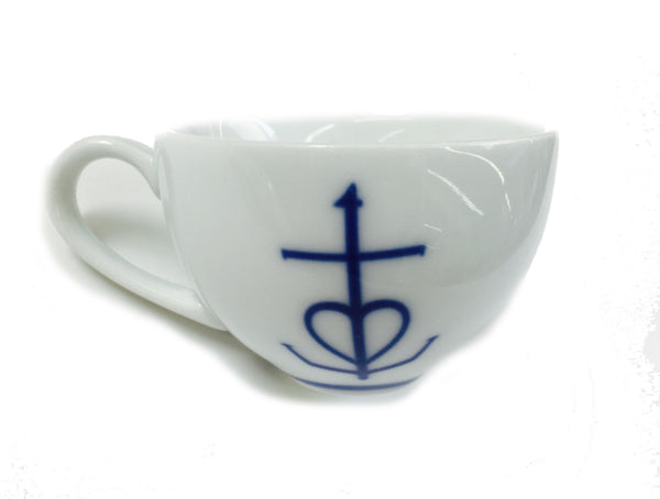 mutti porcelain - swedish design white and blue kitchen homeware