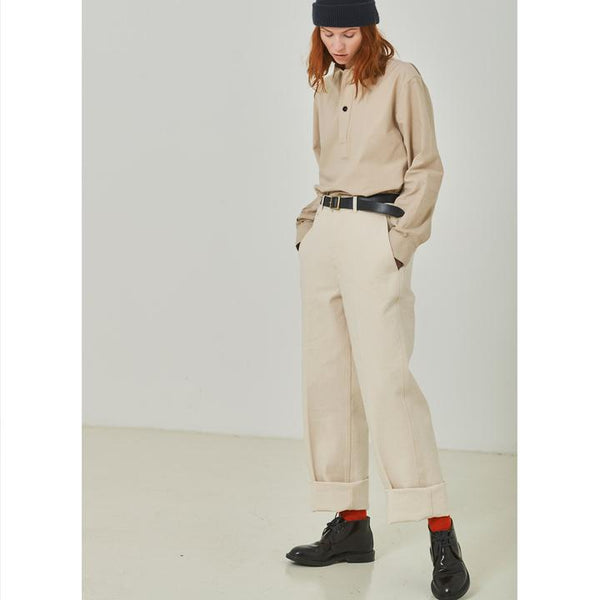 RENU CHINO BULL DENIM PANTS, women's trousers, Eat Dust, Mr Mullan's General Store, [variant_title], [option1], [option2], [option3]. We recommend using the default value. Default value is: RENU CHINO BULL DENIM PANTS - Mr Mullan's General Store