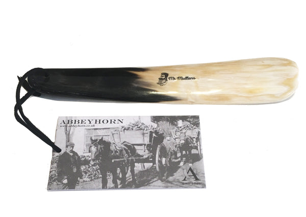 MR MULLAN'S SHOE HORN, Shoe Horn, Mr Mullan's General Store, Mr Mullan's General Store, [variant_title], [option1], [option2], [option3]. We recommend using the default value. Default value is: MR MULLAN'S SHOE HORN - Mr Mullan's General Store