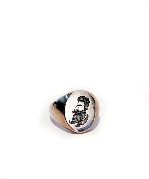 MR MULLAN'S ROUND SILVER SIGNET RING, [product_type], Mr Mullan's General Store, Mr Mullan's General Store, [variant_title], [option1], [option2], [option3]. We recommend using the default value. Default value is: MR MULLAN'S ROUND SILVER SIGNET RING - Mr Mullan's General Store