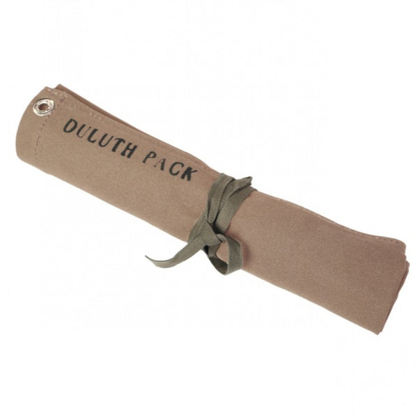 Duluth pack utensil roll. Outdoor gift. Mens utility roll. Canvas work tool roll.